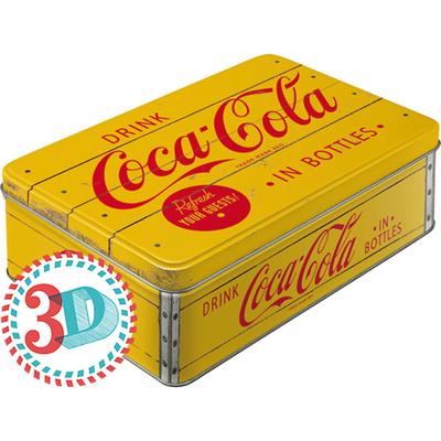 30725 Säilytyspurkki flat 3D Coca-Cola in bottles