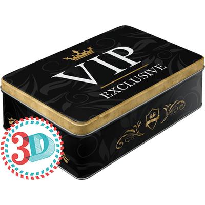 30729 Säilytyspurkki flat VIP Exclusive