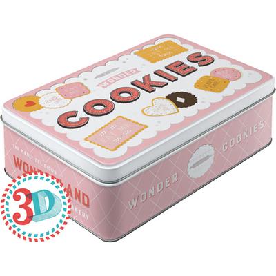 30736 Säilytyspurkki flat Wonder Cookies