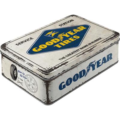 30745 Säilytyspurkki flat Goodyear logo
