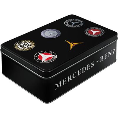30746 Säilytyspurkki flat Mercedes-Benz logot
