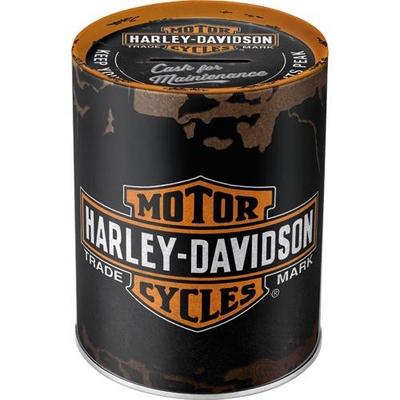 31001 Säästölipas matta Harley-Davidson logo