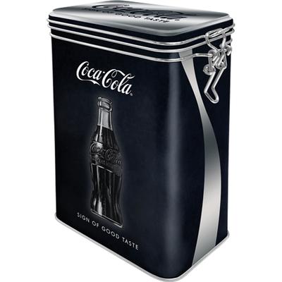31101 Säilytyspurkki klipsillä Coca-Cola Sign Of Good Taste