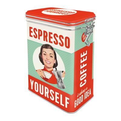 31104 Säilytyspurkki klipsillä Espresso Yourself