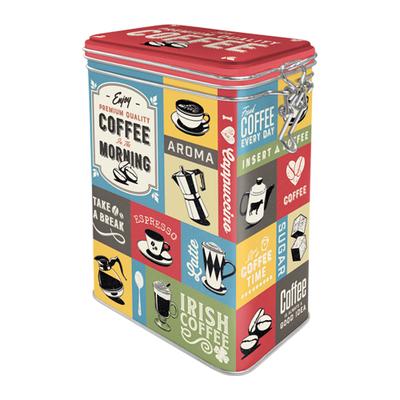 31115 Säilytyspurkki klipsillä Coffee Collage
