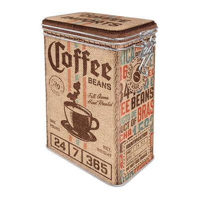 31120 Säilytyspurkki klipsillä Coffee Sack