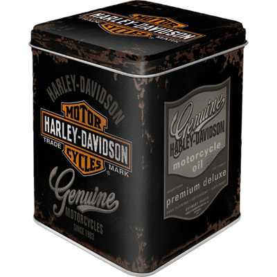 31310 Tea Box Harley-Davidson - Genuine Logo