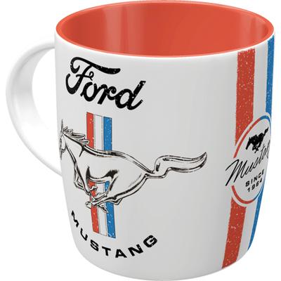 43065 Muki Ford Mustang - Horse & Stripes Logo