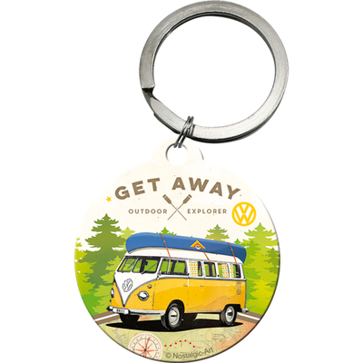 48027 Avaimenperä VW Bulli Let's Get Away