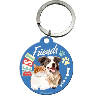 48029 Avaimenperä Best Friends kissa ja koira