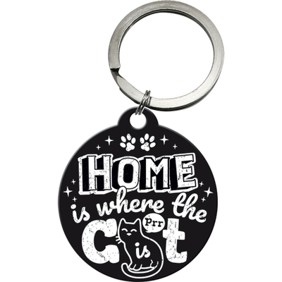 48042 Avaimenperä Home is where the cat is black