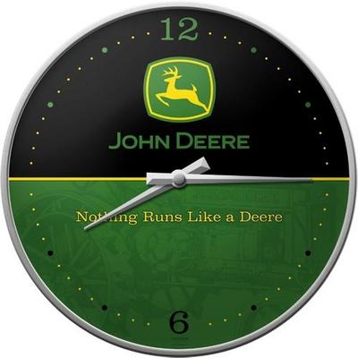 51030 Seinäkello John Deere logo