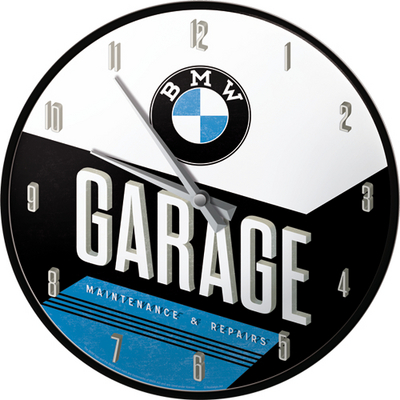 51077 Seinäkello BMW Garage