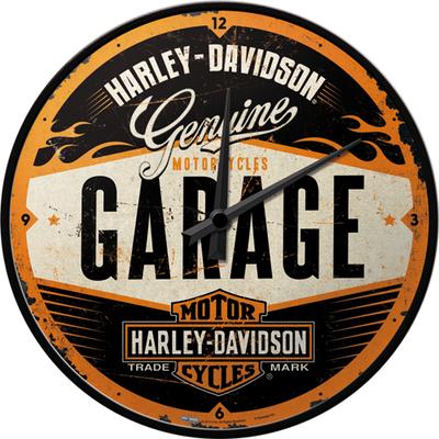 51083 Seinäkello Harley-Davidson Garage