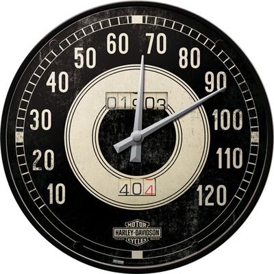 51084 Seinäkello Harley-Davidson mittari