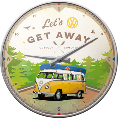51092 Seinäkello VW Bulli - Let's Get Away