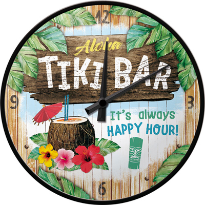 51093 Seinäkello Tiki Bar