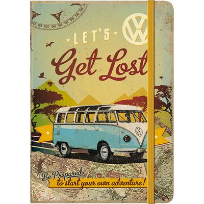 54006 Muistikirja VW Bulli - Let's Get Lost