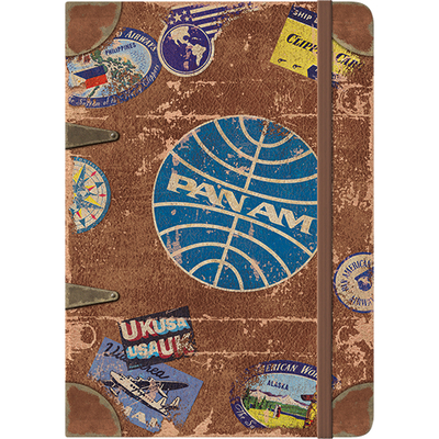 54007 Muistikirja Pan Am - Travel Stickers