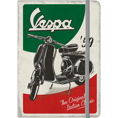 54009 Muistikirja Vespa - The Italian Classic