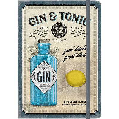 54010 Muistikirja Gin & Tonic - Drinks & Stories