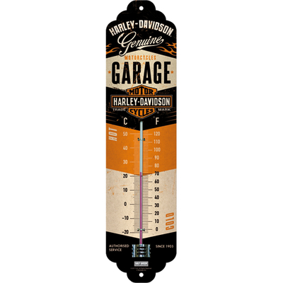 80313 Lämpömittari Harley-Davidson Garage