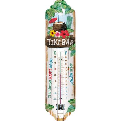 80335 Lämpömittari Tiki Bar
