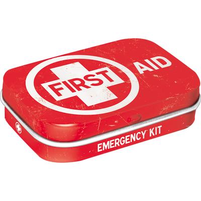 81375 Pastillirasia First Aid punainen