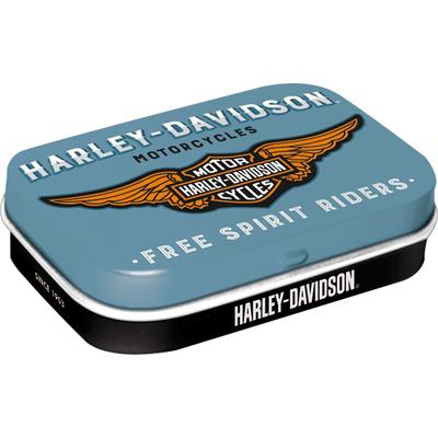 81380 Pastillirasia Harley-Davidson logo sininen