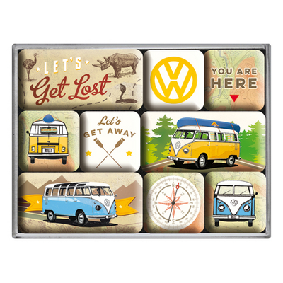 83080 Magneettisetti VW Bulli Let's get lost