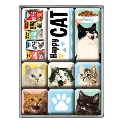 83093 Magneettisetti Happy Cat
