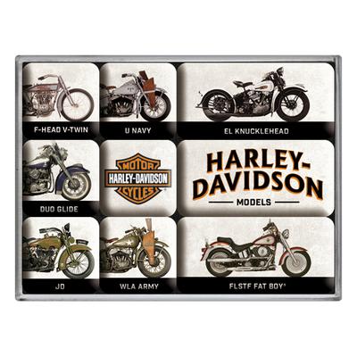 83102 Magneettisetti Harley-Davidson mallit