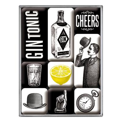 83105 Magneettisetti Gin Tonic