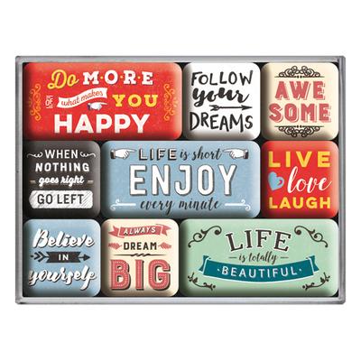 83111 Magneettisetti Enjoy Life
