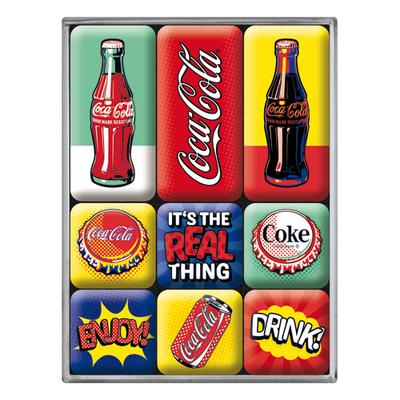 83120 Magneettisetti Coca Cola - Pop Art