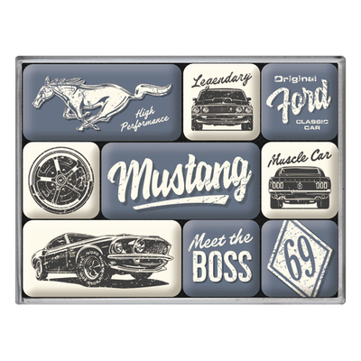 83124 Magneettisetti Ford Mustang - The Boss