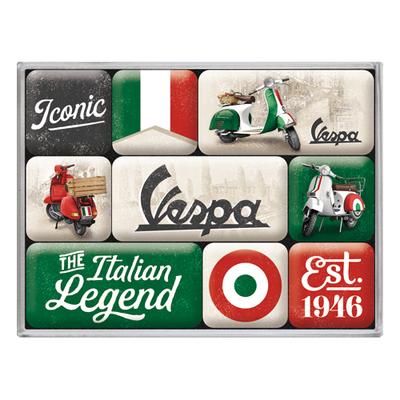 83125 Magneettisetti Vespa - The Italian Legend