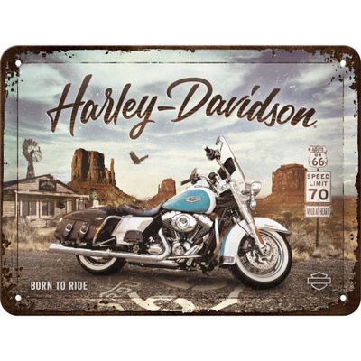 Kilpi 15x20 Harley-Davidson - Route 66 Road King Classic