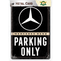 10313 Postikortti Mercedes-Benz Parking Only