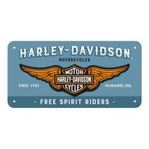 28023 Kilpi 10x20 Harley-Davidson logo