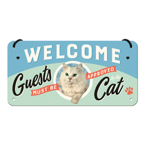 28027 Kilpi 10x20 Welcome Guests must be approved Cat