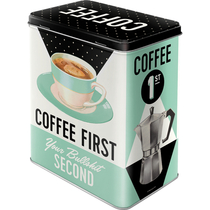 30146 Säilytyspurkki L Coffee First...