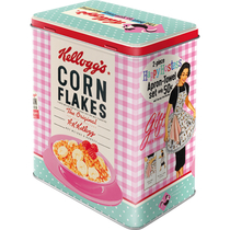 30147 Säilytyspurkki L Kellogg's Corn Flakes The best to you every morning