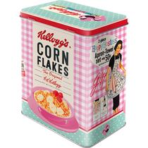 30147 Säilytyspurkki L Kellogg's Corn Flakes The best to you every morning