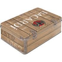30755 Säilytyspurkki Flat Bacardi - Wood Barrel Logo