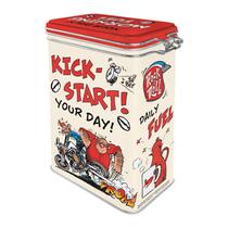 31127 Säilytyspurkki klipsillä MOTOmania - Kick-Start Your Day!