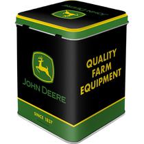 31313 Tea Box John Deere - Logo Black