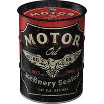 31505 Säästölipas (tynnyri) Motor Oil