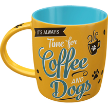 43048 Muki It's always Time for Coffee and Dogs