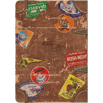 54007 Muistikirja Pan Am - Travel Stickers